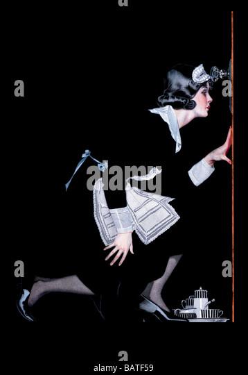 Maid to Spy - Stock-Bilder