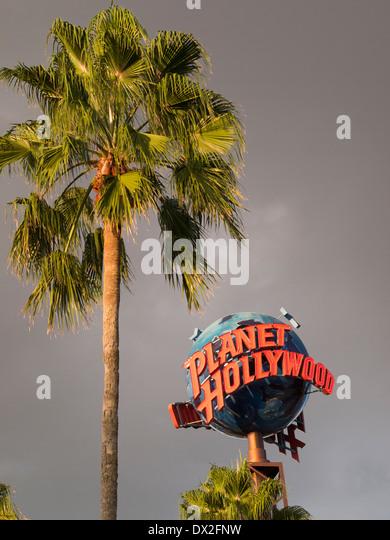 Planet Hollywood, Orlando, Florida - Stock Image