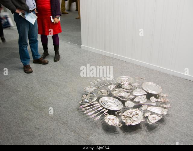 Arco Madrid, art exhibition - Stock-Bilder