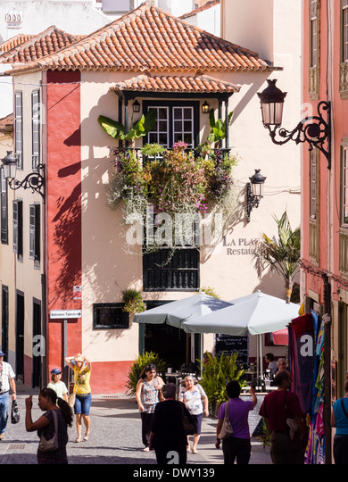 shopping in canary islands stock photos shopping in