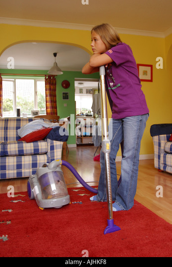 13 Year Bedroom Boy: Child Tidying Room Stock Photos & Child Tidying Room Stock