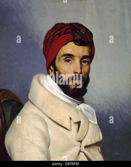 Self-Portrait. Artist: Guérin, Pierre Narcisse, Baron (1774-1833) - Stock Image