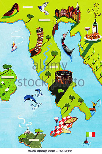 Visit Italy - Stock-Bilder