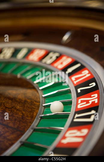 Roulette table close-up - Stock-Bilder
