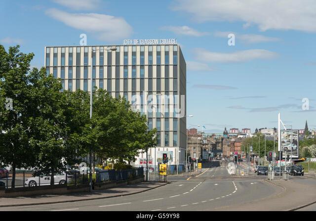 Glasgow college stock photos