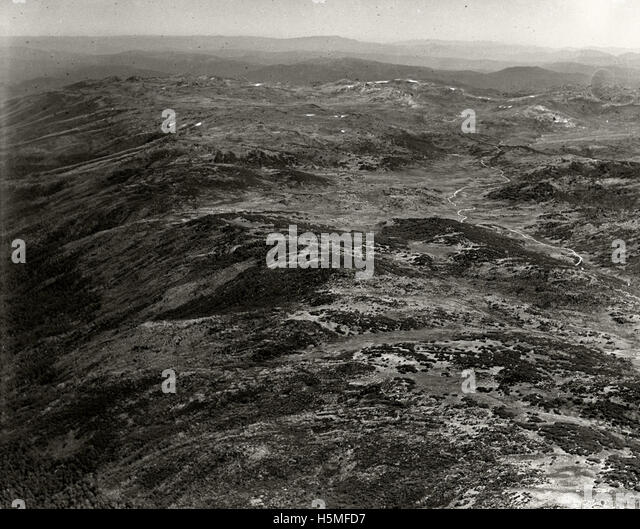 Kosciusko Summit - 11 Mar 1937 - Stock Image