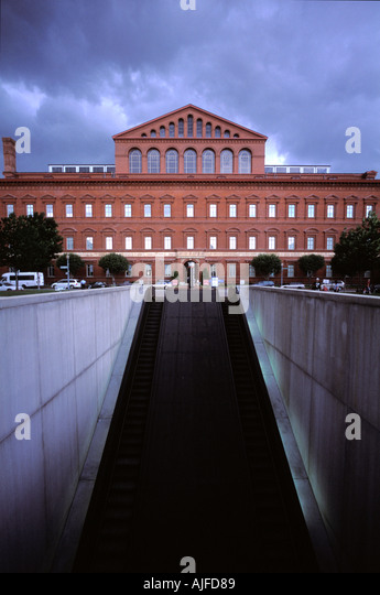 National Building Museum, Washington D.C. - Stock Image