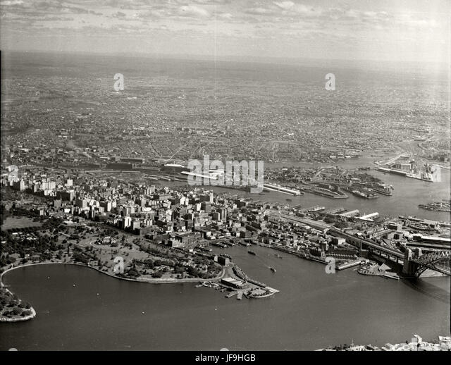 Sydney - Farm Cove, City & Western Suburbs from Mosman 29642264814 o - Stock Image