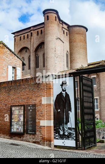 Albi : Toulouse-Lautrec museum - Stock Image