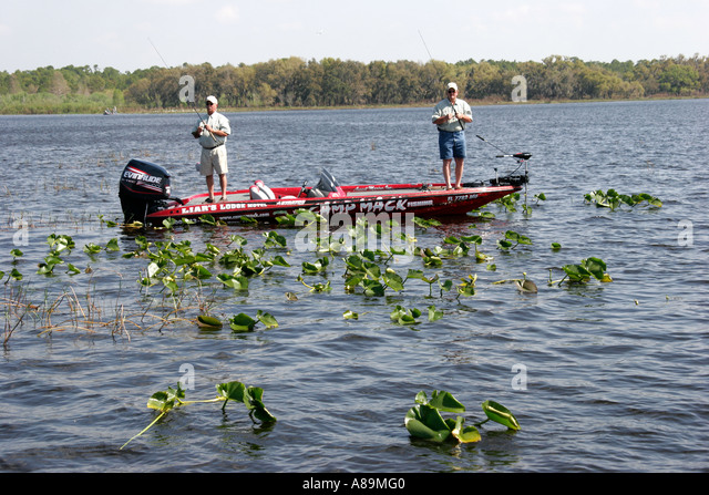 Bass camp stock photos bass camp stock images alamy for Fishing resorts in florida