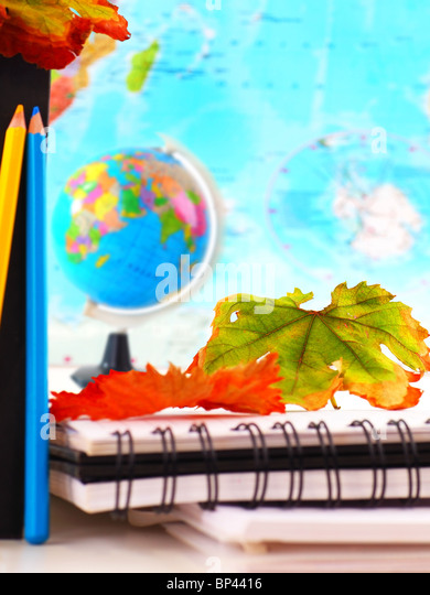 School time conceptual image of education & knowledge - Stock Image