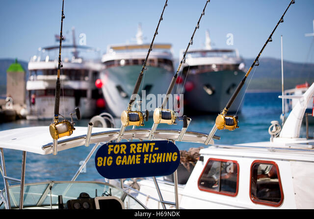 Marlin fishing stock photos marlin fishing stock images for Rent fishing gear