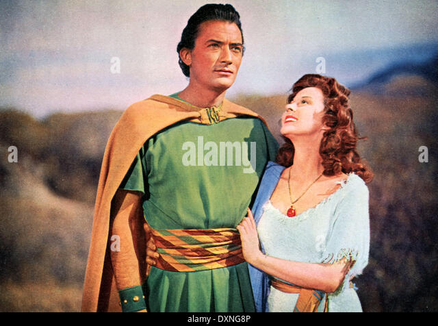 DAVID AND BATHSHEBA - Stock Image