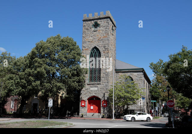 Saint Peter's Episcopal Church in Salem, Essex County, Massachusetts, United States. - Stock Image
