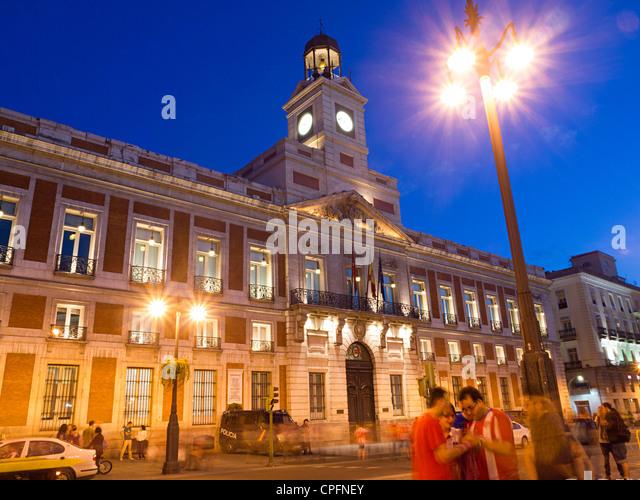 Puerta del sol madrid stock photos puerta del sol for Puerta de sol madrid