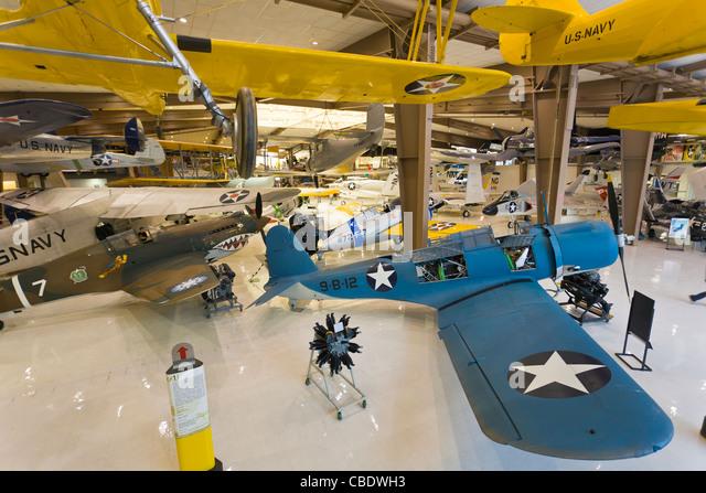 National Naval Aviation Museum in Pensacola Florida - Stock Image