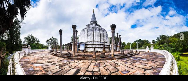 Lankarama Dagoba, Anuradhapura, UNESCO World Heritage Site, Sri Lanka, Asia - Stock-Bilder
