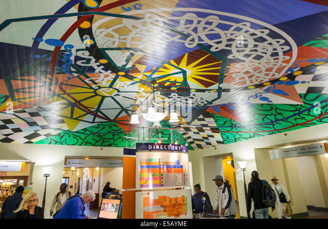 California CA Los Angeles L.A. Downtown Los Angeles Public Library LAPL Richard J. Riordan Central Library Goodhue - Stock Image