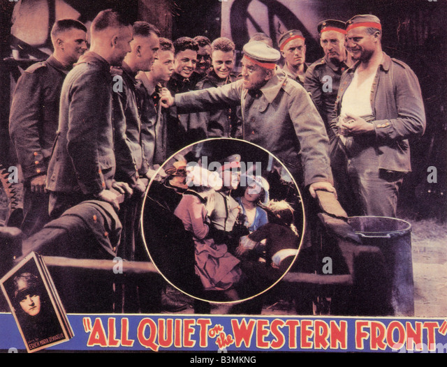 a review of all quiet on the western front a television film by delbert mann All quiet on the western front :  dai bradley, delbert mann:  a french 'poilú' is key to the whole film, and again, for all the staginess of the older film it.