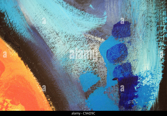 Brush Art  #A7 - Stock Image