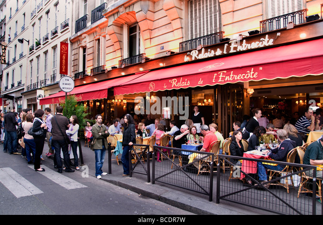 French restaurant waiter stock photos french restaurant - Bar a chat rouen ...