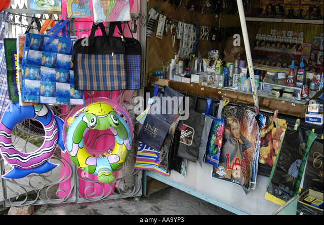 Little shop on the streets of Sukhumi (Abkhazia) - Stock Image