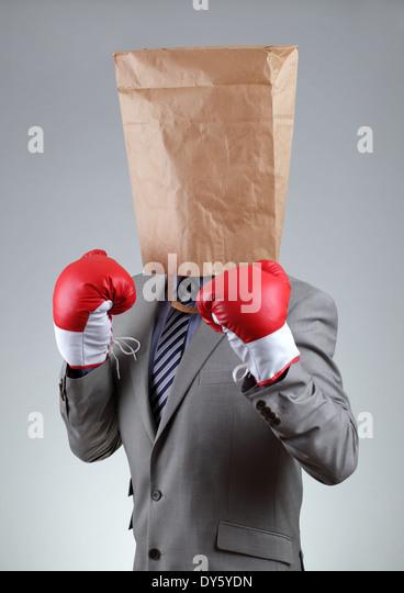 Tough business - Stock Image