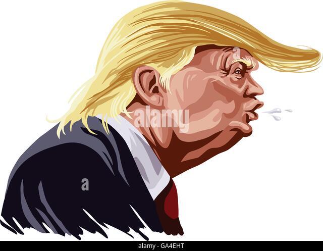 Political Campaign Cartoon Stock Photos & Political ...