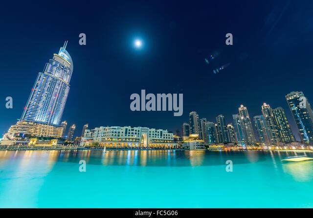 On moonlight bay stock photos on moonlight bay stock for Ten star hotel in dubai