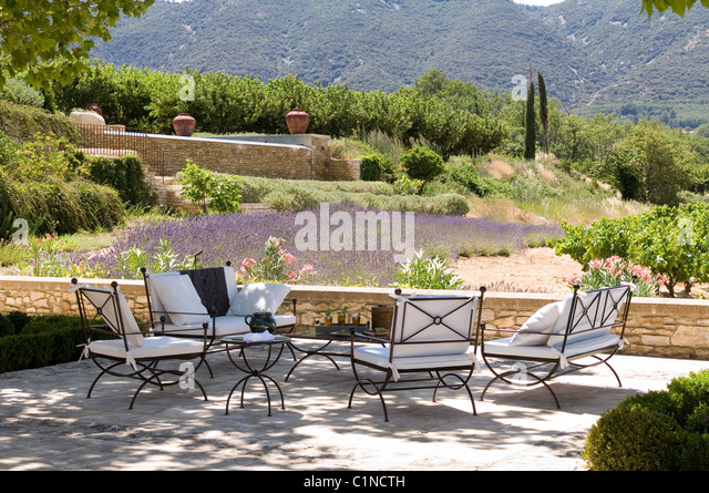 Shaded terrace stock photos shaded terrace stock images for Outdoor furniture egypt