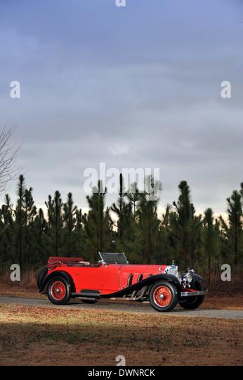 1930 Mercedes-Benz 38/250 7.1 Liter Supercharged 'SS' Sports Tourer - Stock Image