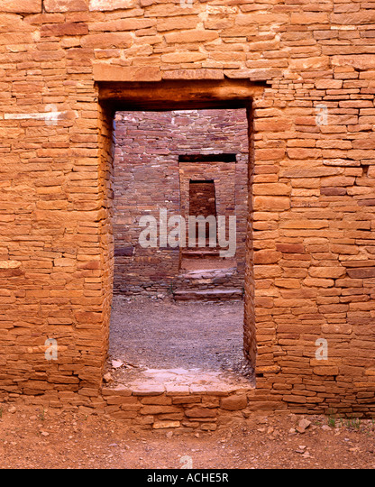 Chaco Door - Stock Image