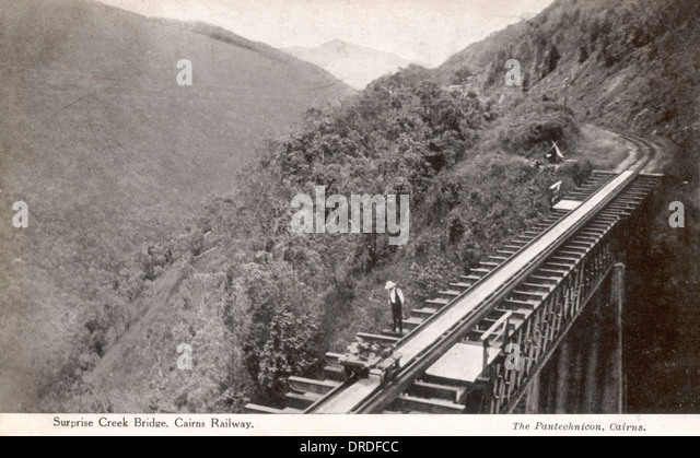 Cairns 1930s - Stock Image