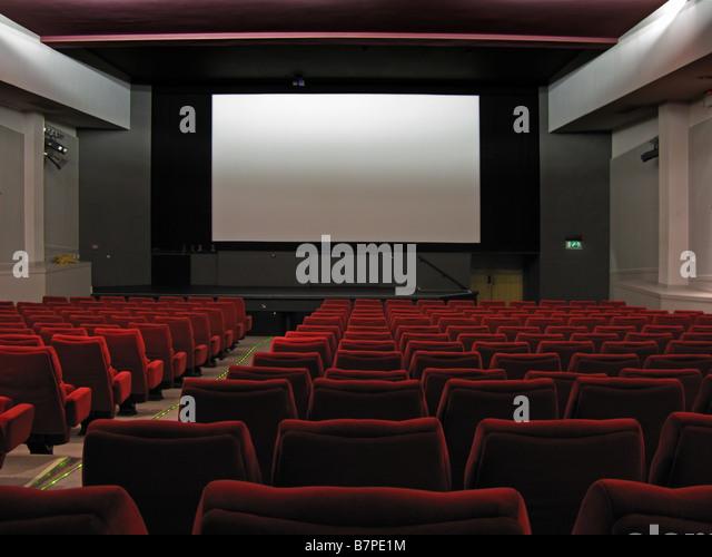 Cinema interior - Stock Image