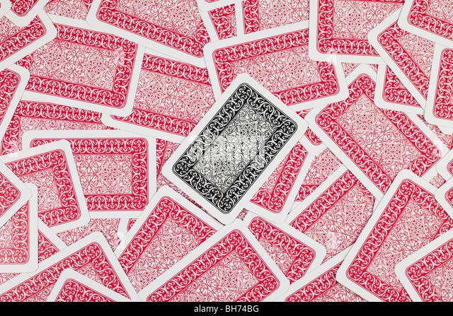 a lot of backgrounds poker cards - Stock-Bilder