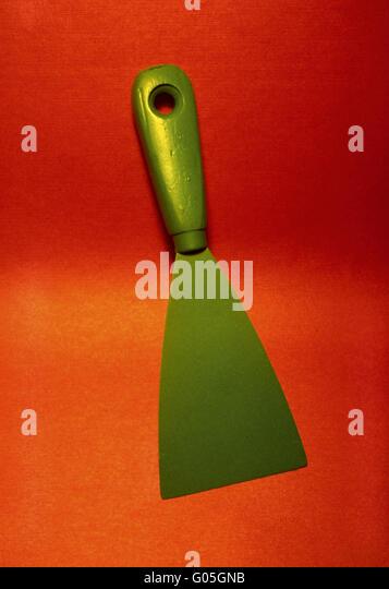 Green filler - Stock Image