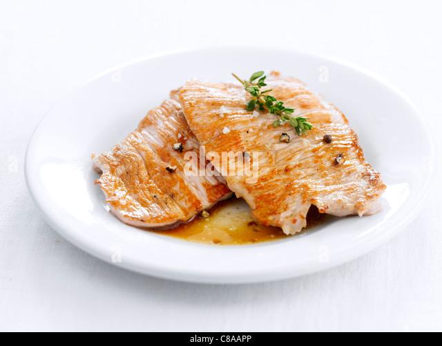 Lomo,grilled pork backbone - Stock Image