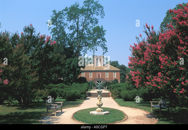 Virginia Stratford Hall plantation Robert E Lee birthplace - Stock Image