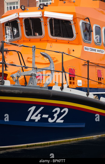 RNLI Life Boats at the 2010 Tall Ships Race in Hartlepool, Cleveland. - Stock Image
