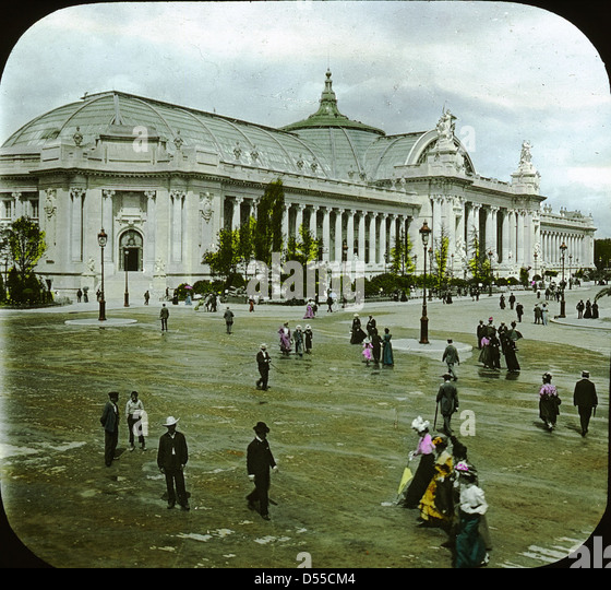 1900 worlds fair paris stock photos 1900 worlds fair paris stock images alamy - Grand palais expo horaires ...