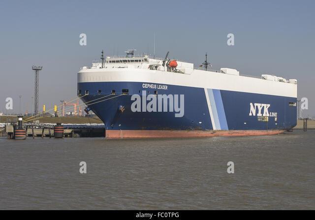Ro-Ro ship Chepheus Leader - Stock Image