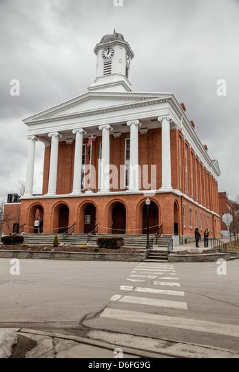 Susquehanna County Courthouse, Montrose, Pennsylvania - Stock Image