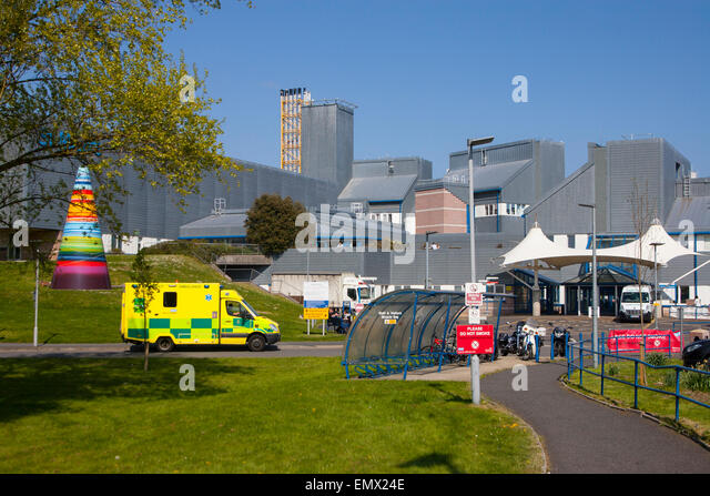 Accident and Emergency, St Mary's, Hospital, Newport,Isle of Wight, Eng;and, UK, - Stock Image