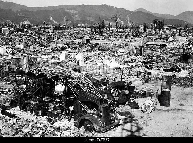Atomic Bomb Hiroshima1945 - Stock Image