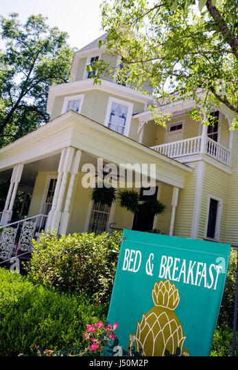 Alabama Columbia Purcell Killingsworth House now Garden Path Bed and Breakfast Victorian style built 1890 - Stock Image
