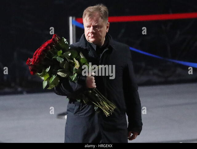 Moscow, Russia. 2nd Mar, 2017. Russian jazz saxophonist and Moscow Jazz Orchestra artistic director Igor Butman - Stock Image
