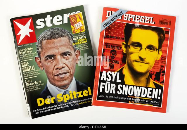 German magazines stock photos german magazines stock for Stern oder spiegel