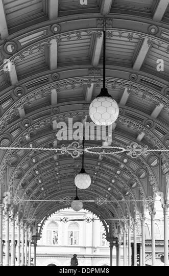 Colonnade Karlovy Vary mineral springs - Stock-Bilder