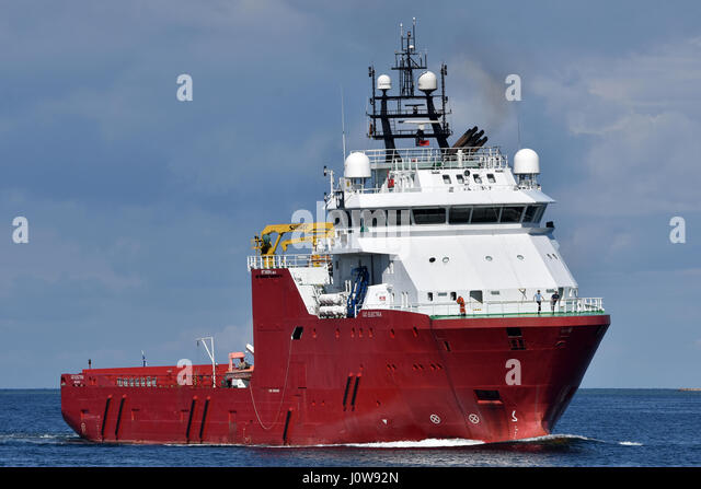 Well Stimulation vessel Go Electra - Stock Image