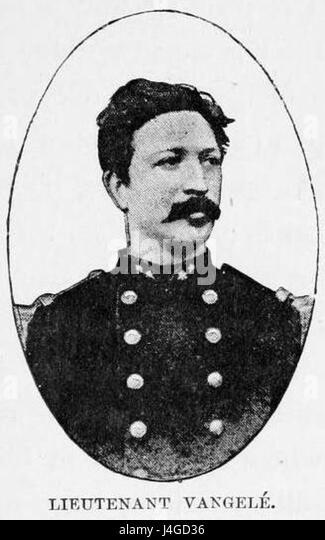 Stanley Founding of Congo Free State 265 Lieutenant Vangele - Stock-Bilder